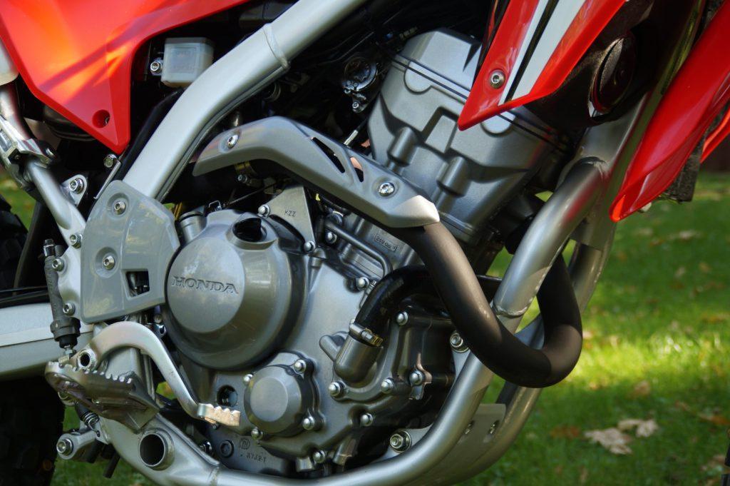Der Motor einer CRF250LA
