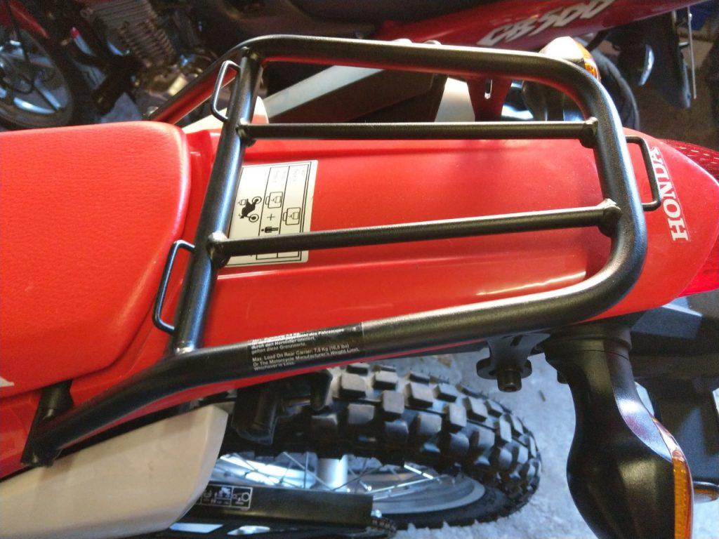 Gepäckträger für alle CRF250-Modelle