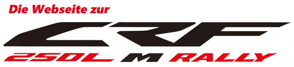 Die Webseite zur CRF250L, M und Rally